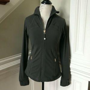 lululemon athletica Tops - Lululemon Define Jacket 10 Army Green Zip Up Coat